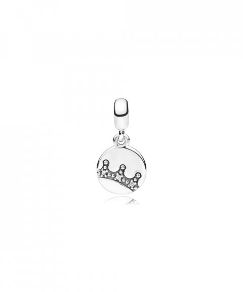 Pandora Essence Dazzling Crown Joia Conta Pendente Pulseira Mulher 797624CZ