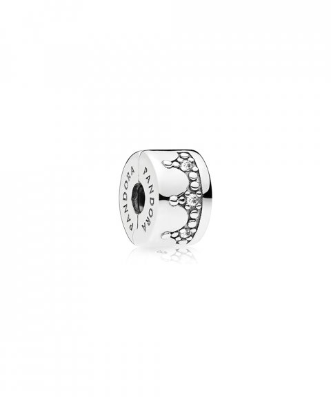 Pandora Dazzling Crown Joia Conta Clip Mulher 797634CZ