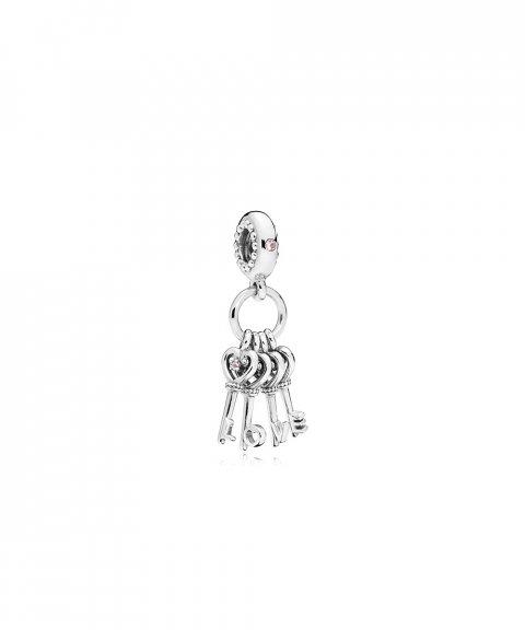 Pandora Keys of Love Joia Conta Pendente Pulseira Mulher 797654NPMMX