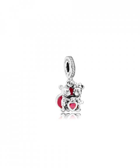 Pandora Disney Minnie and Mickey With Love Joia Conta Pendente Pulseira Mulher 797769CZR