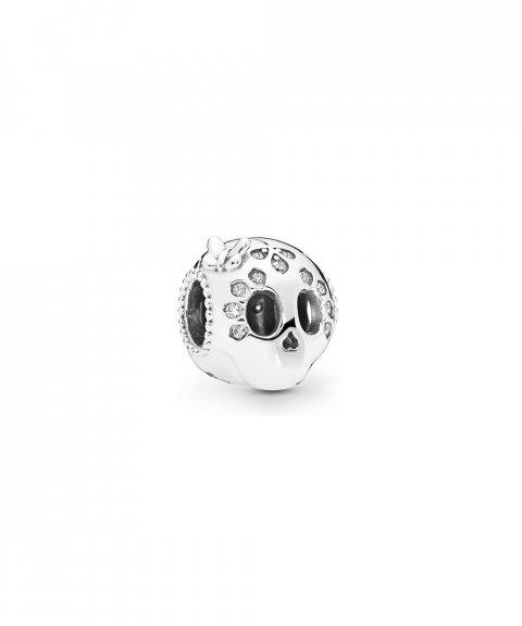 Pandora Sparkling Skull Joia Conta Mulher 797866CZ