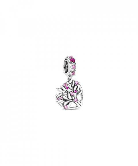 Pandora Pink Heart Family Tree Joia Conta Pendente Pulseira Mulher 799153C01