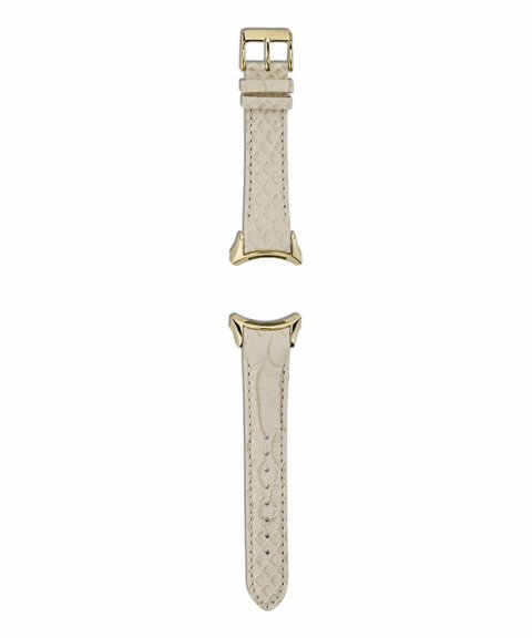 Pandora Light Brown Leather Strap With Stainless Steel Buckle Relógio Bracelete Mulher 882038LCA