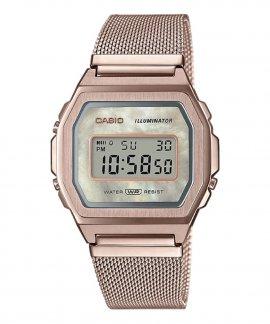 Casio Collection Vintage Relógio Mulher A1000MCG-9EF