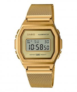Casio Collection Vintage Iconic Relógio A1000MG-9EF