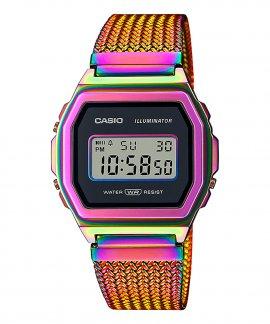 Casio Collection Vintage Iconic Rainbow Relógio A1000PRW-1ER