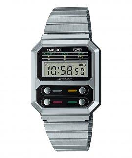 Casio Collection Vintage Edgy Relógio A100WE-1AEF