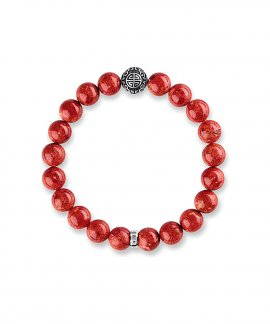 Thomas Sabo Ethnic Red Joia Pulseira A1681-062-10-L17