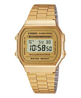 Casio Collection Retro Relógio Mulher A168WG-9EF