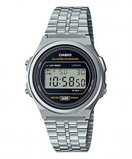 Casio Collection Vintage Round Relógio A171WE-1AEF