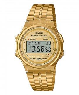 Casio Collection Vintage Round Relógio A171WEG-9AEF