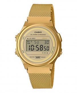 Casio Collection Vintage Round Relógio A171WEMG-9AEF