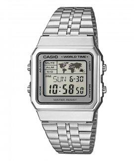 Casio Collection Retro World Time Relógio A500WEA-7EF