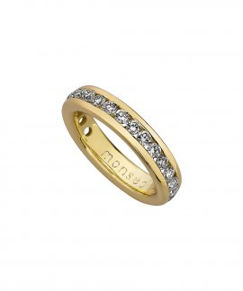 Monseo Moments Joia Anel Mulher Ouro 19.2K e Diamantes AN0624A