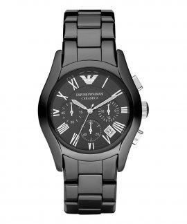Emporio Armani Valente Ceramica Relógio Homem Chronograph AR1400