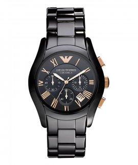 Emporio Armani Valente Ceramica Relógio Homem Chronograph AR1410