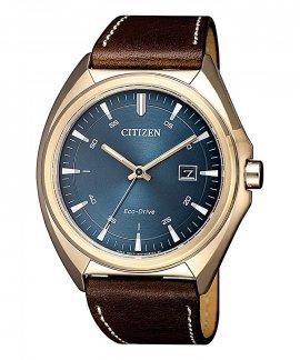 Citizen Style Eco-Drive Relógio Homem AW1573-11L
