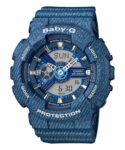 Casio Baby-G Denim Relógio Mulher BA-110DC-2A2ER