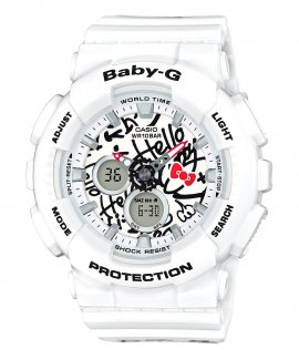 Casio Baby-G Hello Kitty Collaboration Relógio Mulher Special Edition BA-120KT-7AER