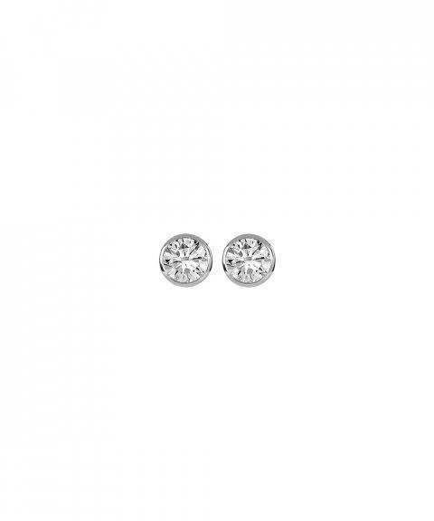 Monseo Eternal Joia Brincos Ouro 19.2K e Diamantes BI2416