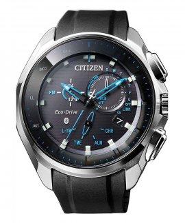 Citizen Radiocontrolado W770 Bluetooth Relógio Homem Eco-Drive BZ1020-14E