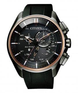 Citizen Radiocontrolado W770 Bluetooth Relógio Homem BZ1044-08E