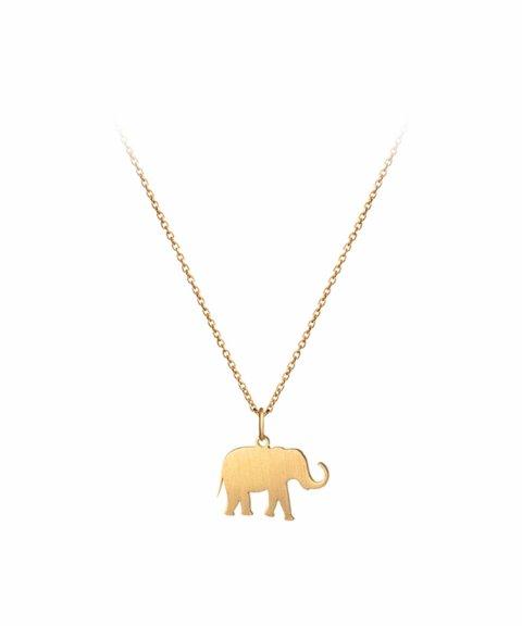 Omnia Wild Elephant Joia Colar Mulher C1260-D