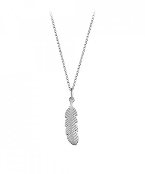 Omnia Ethno Feather Joia Colar Mulher C1501-P