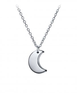 Omnia Sky Moon Joia Colar Mulher C1518-P
