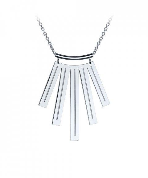 Omnia Ethno Stripes XL Joia Colar Mulher C1555X-P
