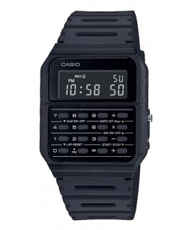 Casio Collection Vintage Edgy Calculator Relógio CA-53WF-1BEF