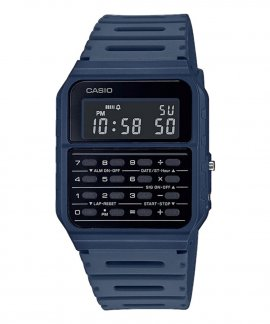 Casio Collection Vintage Edgy Calculator Relógio CA-53WF-2BEF