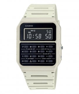 Casio Collection Vintage Edgy Calculator Relógio CA-53WF-8BEF