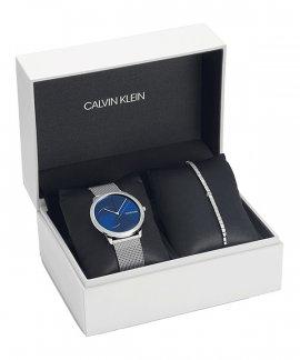 Calvin Klein Minimal Gift Set Relógio Pulseira Mulher CKSETK3MBKJ9M