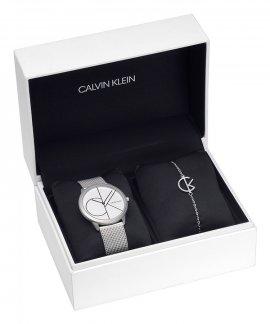 Calvin Klein Minimal League Gift Set Relógio Pulseira Mulher CKSETK3MKJ6DM