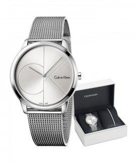 Calvin Klein Minimal Gift Set Relógio Pulseira Mulher CKSETK3MSKJ9M
