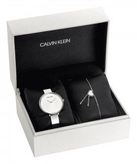 Calvin Klein Rise and Tune Set Relógio Pulseira Mulher CKSETK7ASKJ5Q