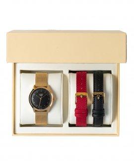 Cauny Majestic T Gold Box Relógio Set Mulher CMJ016PK