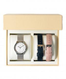 Cauny Majestic T Silver Box Relógio Set Mulher CMJ017PK