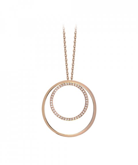 Monseo Cosmopolitan Joia Colar Ouro 19.2K e Diamantes Mulher CO2104B