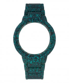 Watx and Co M Original Sparkling Blue Glitter Bracelete Mulher COWA1017
