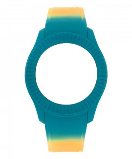 Watx and Co M Smart Psicotropical Orange Blue Bracelete COWA3098