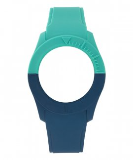 Watx and Co S Smart Duo Green Blue Bracelete COWA3517