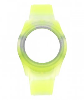Watx and Co S Smart Tie Dye Yellow Bracelete COWA3532