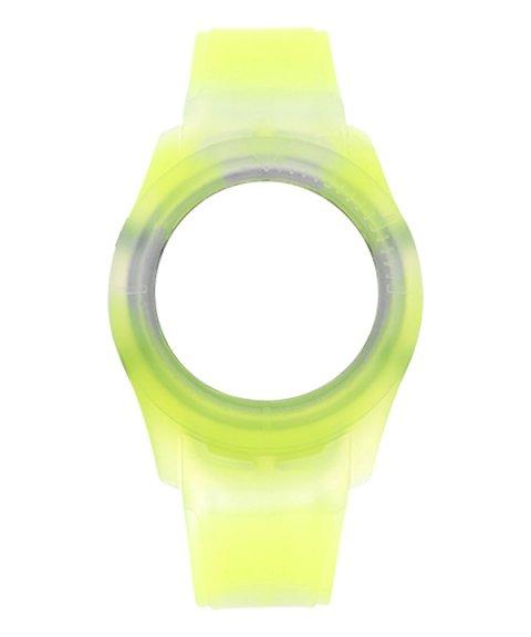 Watx and Co S Smart Tie Dye Yellow Bracelete COWA3532