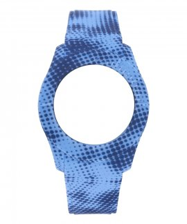 Watx and Co S Smart Pixel Blue and Dark Blue Bracelete COWA3558