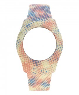 Watx and Co S Smart Pixel Yellow Blue Coral Bracelete COWA3559