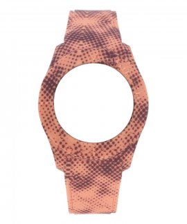 Watx and Co S Smart Pixel Coral and Brown Bracelete COWA3560