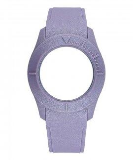 Watx and Co S Smart Velvet Lilac Bracelete COWA3583