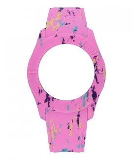 Watx and Co S Smart Splash Pink Bracelete COWA3600